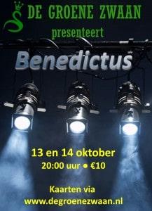 Benedictus @ De Groene Zwaan | De Rijp | Noord-Holland | Nederland