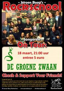 Jeroen Booy's Rockschool @ De Groene Zwaan | De Rijp | Noord-Holland | Nederland