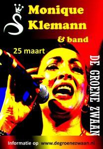 Monique Klemann en band @ De Groene Zwaan | De Rijp | Noord-Holland | Nederland