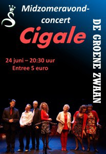 Midzomeravondconcert Cigale @ De Groene Zwaan | De Rijp | Noord-Holland | Nederland