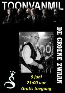 Toon van Mil Band @ De Groene Zwaan | De Rijp | Noord-Holland | Nederland