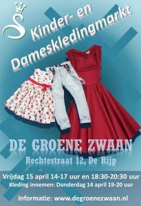 Kinder- en dameskledingmarkt @ De Groene Zwaan | De Rijp | Noord-Holland | Nederland