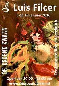 Luis Filcer, tentoonstelling en verkoop @ De Groene Zwaan | De Rijp | Noord-Holland | Nederland