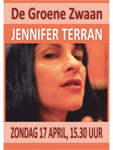 Jennifer Terran @ De Groene Zwaan | De Rijp | Noord-Holland | Nederland