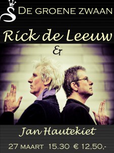 Rick de Leeuw & Jan Hautekiet @ De Groene Zwaan | De Rijp | Noord-Holland | Nederland