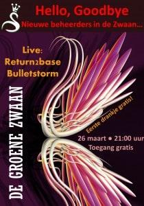Hello, Goodbye @ De Groene Zwaan | De Rijp | Noord-Holland | Nederland