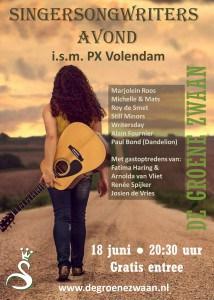 Singersongwriters avond @ De Groene Zwaan | De Rijp | Noord-Holland | Nederland