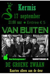 Van Buiten, kermis 2016 @ De Groene Zwaan | De Rijp | Noord-Holland | Nederland