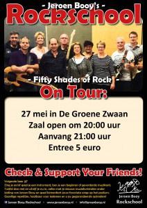 Fifty Shades of Rock @ De Groene Zwaan | De Rijp | Noord-Holland | Nederland