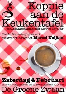 Koppie aan de keukentafel @ De Groene Zwaan | De Rijp | Noord-Holland | Nederland