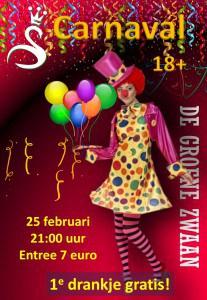 Carnaval @ De Groene Zwaan | De Rijp | Noord-Holland | Nederland