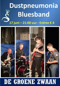 Dustpneumonia Blues Band @ De Groene Zwaan   De Rijp   Noord-Holland   Nederland