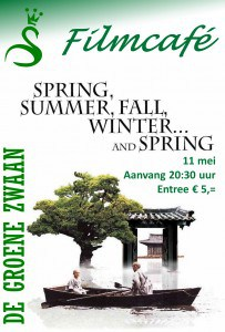 Filmcafé: Spring, summer, fall, winter... and spring @ De Groene Zwaan | De Rijp | Noord-Holland | Nederland