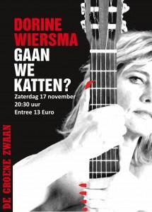 Dorine Wiersma: Gaan we katten? @ De Groene Zwaan | De Rijp | Noord-Holland | Nederland