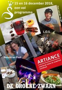 Programma 15 en 16 december @ De Groene Zwaan | De Rijp | Noord-Holland | Nederland