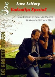 Love Letters Valentijn Special @ De Groene Zwaan