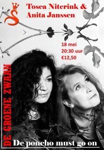Tosca Niterink en Anita Janssen @ De Groene Zwaan